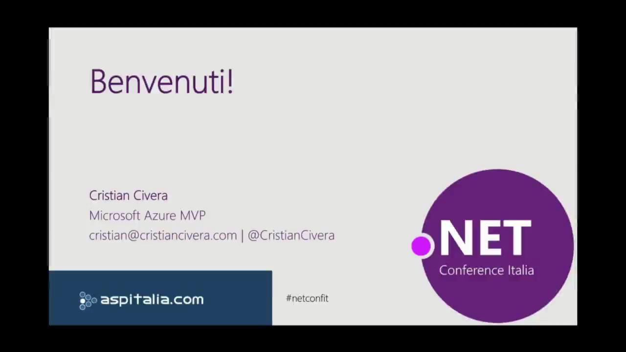 What's coming in .NET and C# 8 (.NET Conference Italia 2018) http://aspit.co/bse di @CristianCivera #vs #netcore2