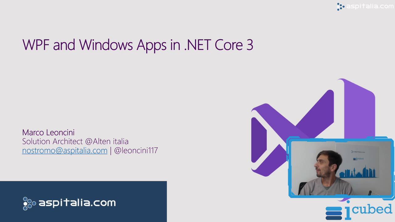 WPF and #windows Apps in #netcore3 https://aspit.co/bxu di @leoncini117 #wpf