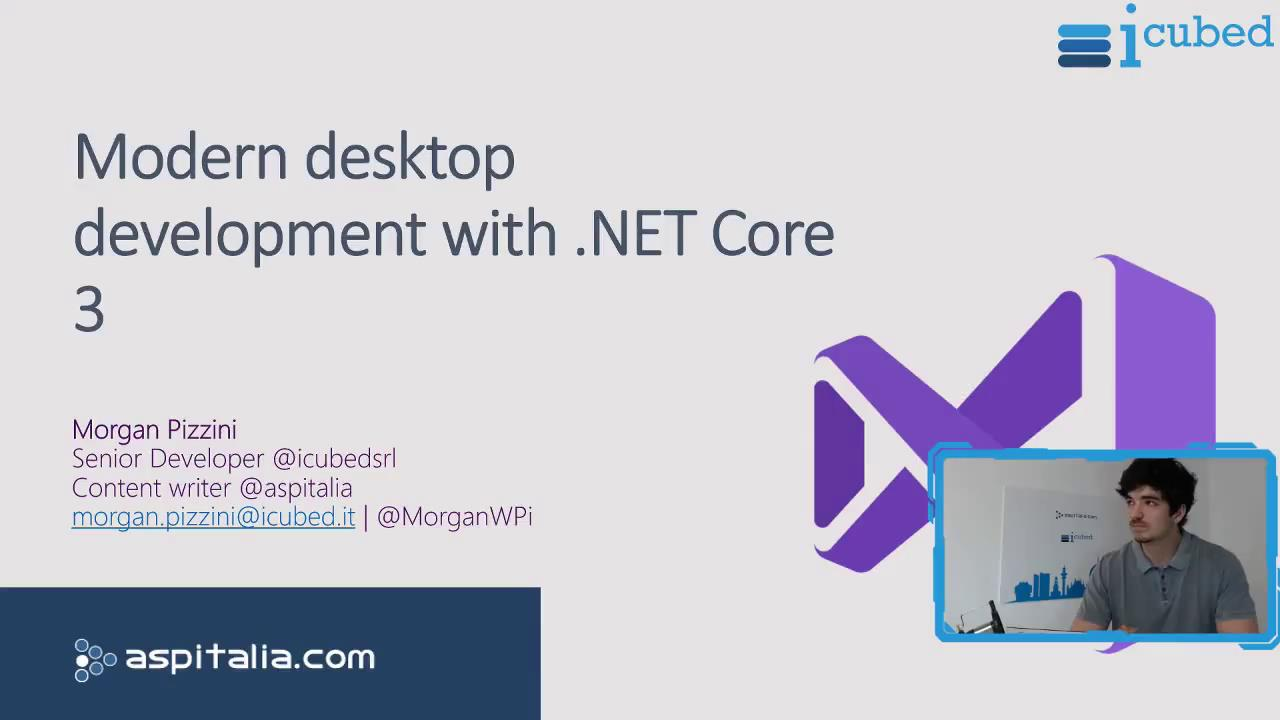 Modern desktop development with #netcore3 https://aspit.co/bwj di @MorganWPi #wpf #vs2019